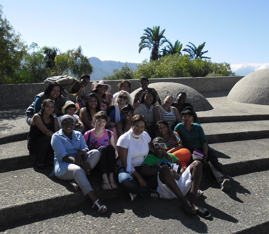 Cape Town Tour Guide Students on a field trip